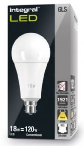120W LED Bulb | Bayonet | Warm White